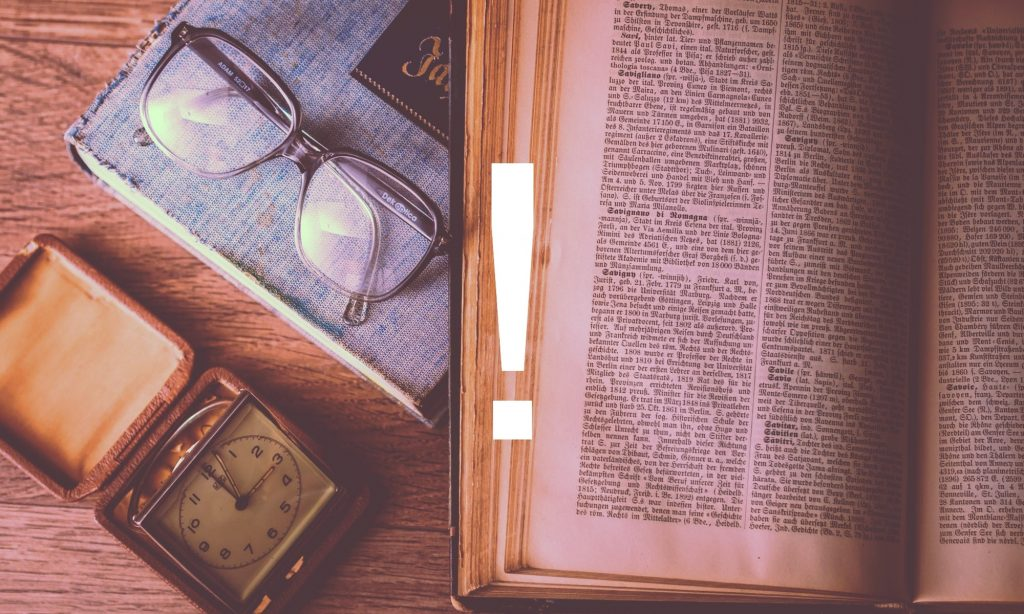 Book and glasses - Knowledge Base in a Small Business