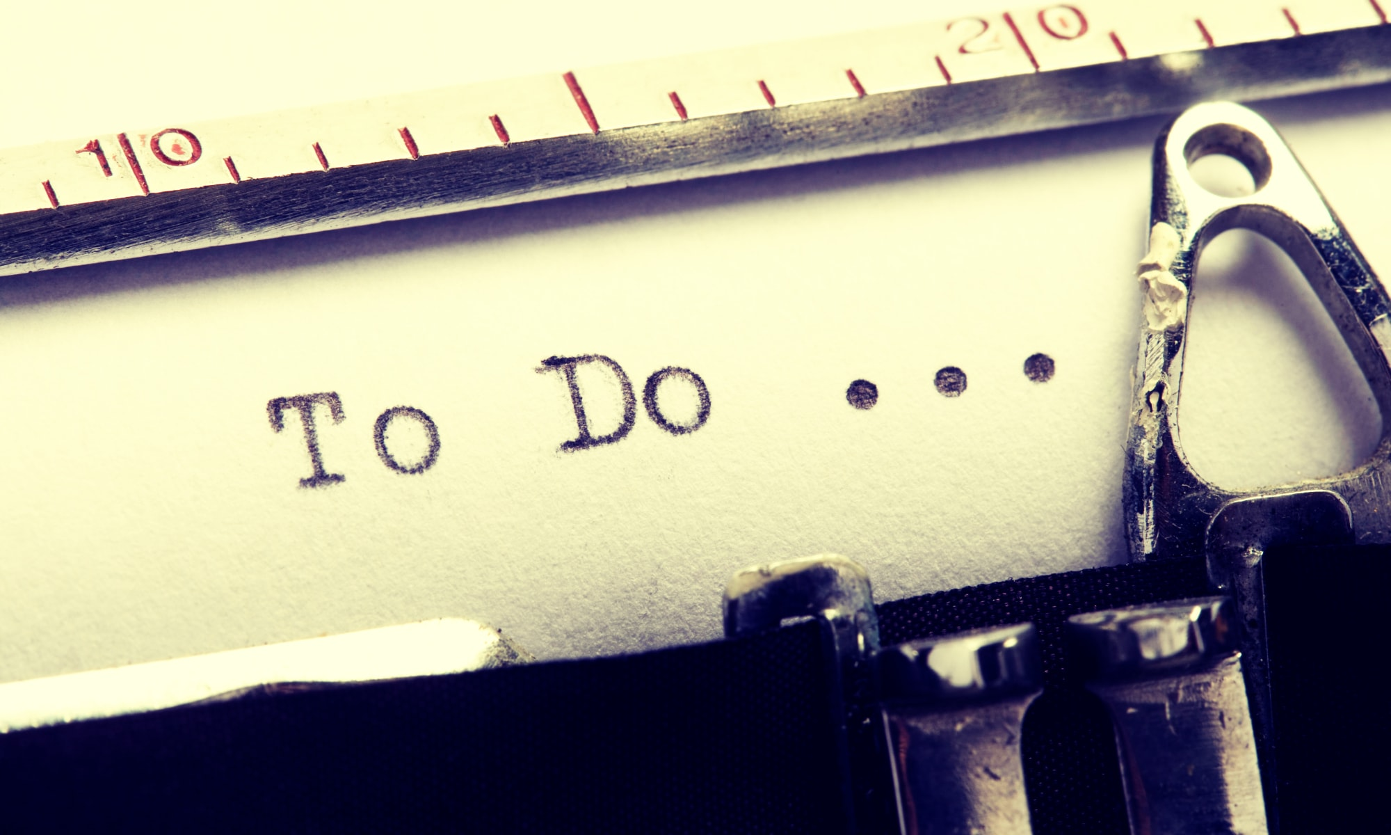 Typing to do - anatomy of a task